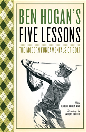 Golf Books: Ben Hogan's Five Lessons (PB)