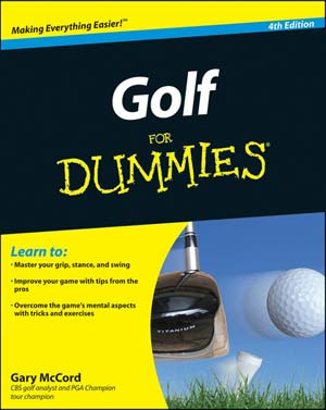 Golf For Dummies - 4th Edition (PB)