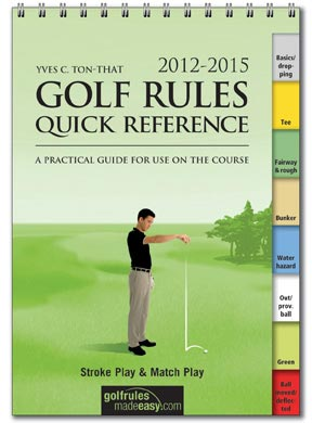 2012 Golf Rules Quick Reference