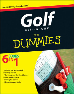 Golf's All in One for Dummies (PB)