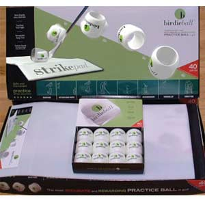 Birdie Ball Twelve Pack and Strike Pad