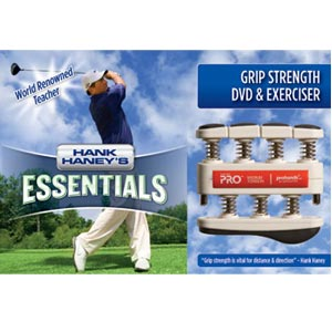 "Hank Haney's ""Essentials"" Hand Exerciser & DVD"