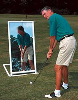 PVC Teaching & Training Golf Mirror