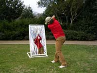 Pvc Golf Mirror For Teaching Amp Training At Practicerange Com