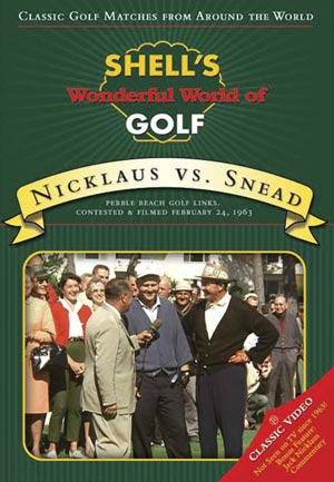 Nicklaus vs. Snead Shell's World of Golf (DVD)